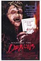 NIGHT OF THE DEMONS Movie POSTER 27x40 Linnea Quigley Cathy Podewell