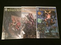 KING'S ROAD #1, 2, 3 VFNM Condition
