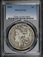 1894 $1 F12 PCGS
