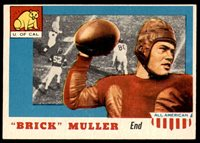 1955 Topps All American #22 Brick Muller Ex-Mint 1955 Topps All American #22 Brick Muller Ex-Mint