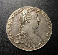 Hungary Thaler 1780 Maria Theresa Silver Trading Coin Great Condition S.F.