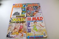 Lot of 4 Vintage Mad Magazines - From 1996 and 1997(1)