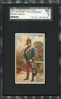 1909-13 Recruit T81 Officer 11th Hussars - England SGC 60 EX 1291443-007