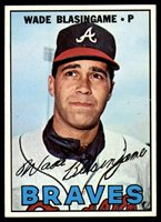 1967 Topps #119 Wade Blasingame Very Good 1967 Topps #119 Wade Blasingame Very Good