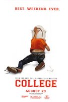 COLLEGE Movie POSTER 27x40 Drake Bell Kevin Covais Andrew Caldwell Haley Bennett