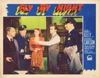 FLY BY NIGHT Lobby Card Richard Carlson Nancy Kelly