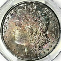 1878-S MORGAN SILVER DOLLAR - PCGS MS64 - A VELVET LADY WITH A PRISTINE REVERSE