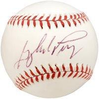 Gaylord Perry Autographed Official AL Baseball San Francisco Giants, Atlanta Braves Beckett BAS #X12689Gaylord Perry Autographed Official AL Baseball San Francisco Giants, Atlanta Braves Beckett BAS #X12689