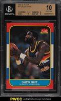 1986 Fleer Basketball Calvin Natt #79 BGS 10 PRISTINE (PWCC)