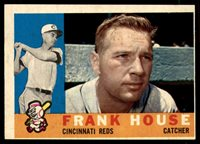 1960 Topps #372 Frank House VG/EX Very Good/Excellent
