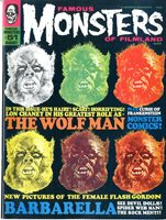 Famous Monsters of Filmland Magazine # 51 VF+ 8/68 Werewolf cover by Bas