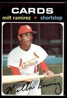 1971 Topps #702 Milt Ramirez Excellent RC Rookie High # 1971 Topps #702 Milt Ramirez Excellent RC Rookie High #