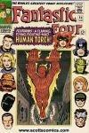 Fantastic Four (1961 - 1996 1st series) #54 very good-fine