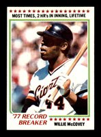 1978 Topps #3 Willie McCovey RB EXMT X1997248