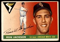 1955 Topps #66 Ron H. Jackson Excellent RC Rookie1955 Topps #66 Ron H. Jackson Excellent RC Rookie