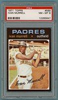 1971 Topps Ivan Murrell – #569 PSA 8! Padres!
