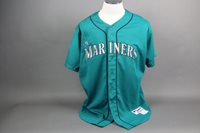 Jeff Datz Game Used/Worn Mariners Jersey