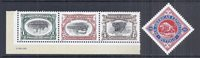 2001 US Pan American Expo Invert Stamps, Cinderella Buffalo Label - MNH Set*