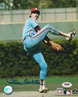 Steve Carlton Signed Phillies Baseball 8x10 Photo PSA/DNA COA Picture Autograph