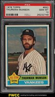 1976 Topps Thurman Munson #650 PSA 10 GEM MINT (PWCC)