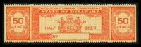 SRS DE B30S 1948 50c orange no serial number, VF