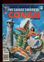 SAVAGE SWORD OF CONAN 77(4.0)(VG)MAGAZINE-MARVEL(b029)