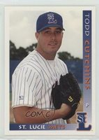 1999 Grandstand St Lucie Mets Todd Cutchins #43