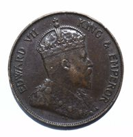 1904 Hong Kong 1 Cent - Victoria - Lot 387
