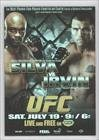 Anderson Silva; James Irvin (Trading Card) 2010 Topps UFC Series 4 Fight Poster Review #FPR-UFN14
