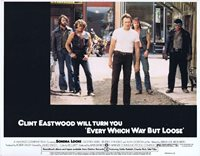EVERY WHICH WAY BUT LOOSE Lobby Card 2 Clint Eastwood