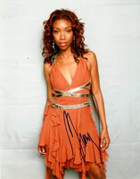 Brandy Autographed Signed 8×10 Beautiful Photo RACC TS UACC RD AFTAL