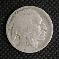1918 BUFFALO NICKEL 5c (Nickel) G6