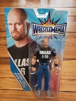 Mattel WWE WrestleMania Stone Cold Steve Austin 2016 Figure New Sealed