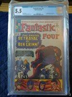 Fantastic Four #41 CGC 5.5