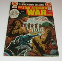 DC Star Spangled War Stories #166 THE UNKNOWN SOLDIER WWII GERMANY FREE SHIPPING