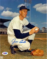Jim Coates Autographed 8x10 Photo New York Yankees PSA/DNA Stock #16733Jim Coates Autographed 8x10 Photo New York Yankees PSA/DNA Stock #16733