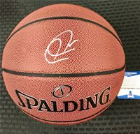 PAUL PIERCE Autograph Signed Spalding NBA Basketball * Beckett BAS COA * Celtics
