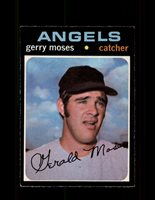 1971 GERRY MOSES OPC #205 O-PEE-CHEE ANGELS *6872