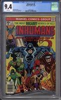 Inhumans #8 CGC 9.4 (W)