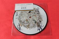 """The ENVY CORPS 'Wires & Wool' HAND SIGNED 7"""" PICTURE DISC Vinyl Record (2007)"""