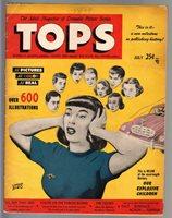 Tops #1 1949 VERY RARE oversized Lev Gleason comic book   Comic Books - Golden Age
