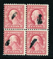 499 USED BLOCK OF 4, FREE SHIPPING IN USA