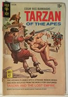 TARZAN OF THE APES NO. 194 - GOLD KEY - AUGUST 1970