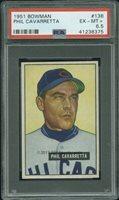 1951 Bowman 138 Phil Cavarretta PSA 6.5 (8375)
