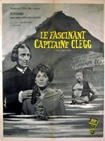 CAPTAIN CLEGG 1962 Peter Cushing Oliver Reed FRENCH HAMMER POSTER