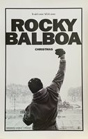 """ROCKY BALBOA CHRISTMAS IT AIN'T OVER TIL IT'S OVER- MINI MOVIE POSTER 11""""x17""""NEW"""