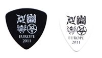Big 4 Europe 2 Guitar Pick Set - 2011 Tour Metallica