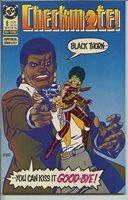 Checkmate 1988 series # 8 very fine comic book
