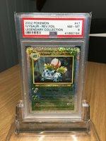 PSA 8 IVYSAUR Legendary Collection Reverse Holo Pokemon NM MINT