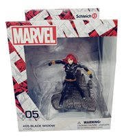 """MARVEL Black Widow Super heroine figure from Schleich for collecting, 4"""", NEW"""